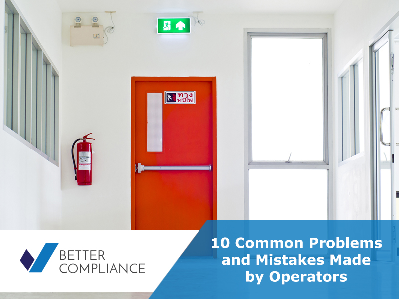 10 Common Problems and Mistakes Made by Operators